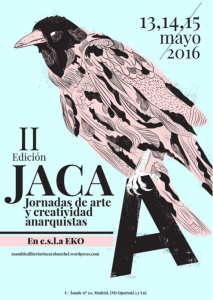 JACA, arte, anarquista, madrid